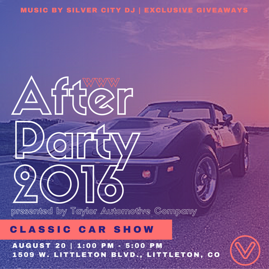 Blog Colorado Classic Car Cruise And Muscle Car Show Littleton CO - Car show giveaways